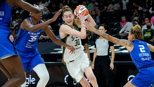 Storm's Stewart out against Mercury with foot injury
