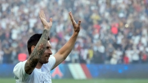 PSG fans give Messi huge ovation; Galtier's Nice routs Lille