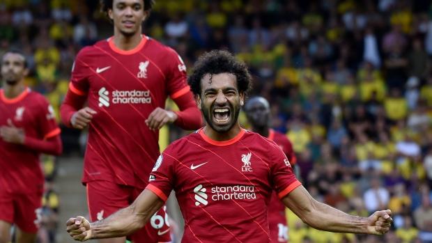 Mohamed Salah Liverpool Norwich - TSN.ca