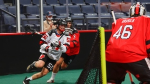 Canada East hangs on to win Game 2 of World Junior Lacrosse Championship