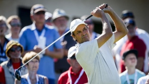 Ames one stroke behind leader Barron at Shaw Charity Classic