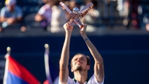 Medvedev beats Opelka to win in Toronto