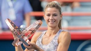Unseeded Giorgi beats Pliskova to win National Bank Open title