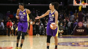 Los Angeles holds off Atlanta in overtime