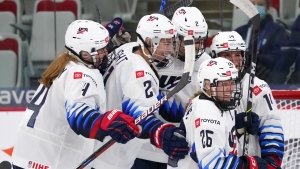 U.S. beats Switzerland for first win at WWC