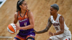 Diggins-Smith has 25 points, leads Mercury past Dream