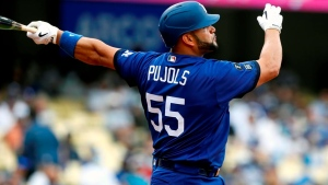 Dodgers' Pujols goes on COVID-19 IL after second vaccine