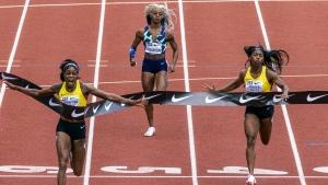 Thompson-Herah beats own Olympic 100m record