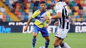 Ronaldo starts on bench as Juventus wastes two-goal lead