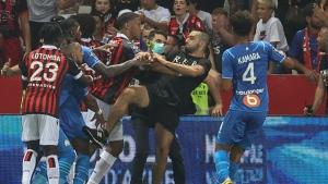 Nice-Marseille game abandoned after fan violence
