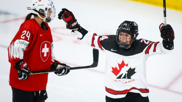 Canada's Spooner embraces challenges inside and outside of hockey