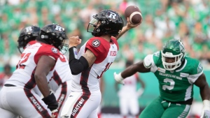 CFL Inside the Numbers: Redblacks off to rocky start on offence