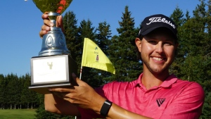 Blair wins in a playoff at the Prince Edward Island Open