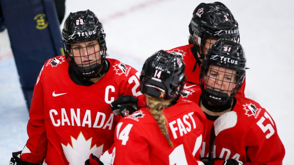 Canadian women's hockey team to play men's Junior A opponents in Alberta