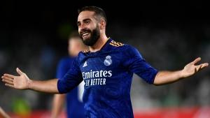 Madrid wins at Betis amid Mbappe transfer talk