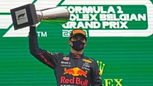 Verstappen declared winner of rain-shortened Belgian GP