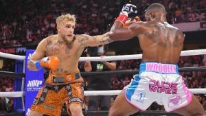 Paul beats Woodley via split decision in cruiserweight fight