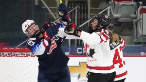 Canadians not forgetting about defence ahead of gold-medal clash with U.S.