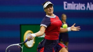 Andreescu wins opening match at US Open