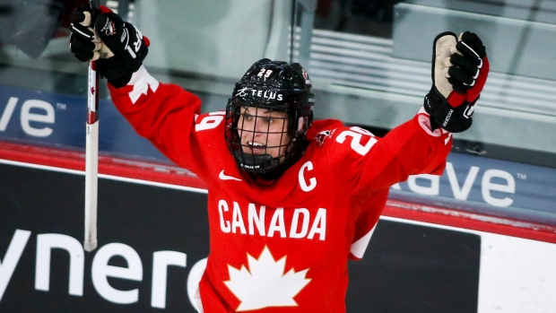 Poulin claims top spot in TSN's Top 5 Women's Players