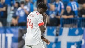 TFC MF Okello fined by MLS disciplinary committee
