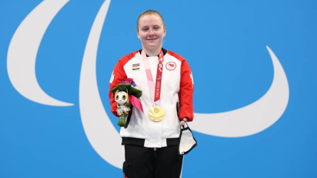 Canada's Dorris wins Paralympic gold and sets world record