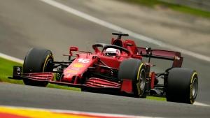 Ferraris top Dutch GP 2nd practice as Hamilton breaks down