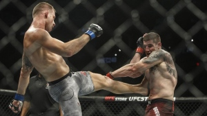 Canadian middleweight Barriault wins again in UFC