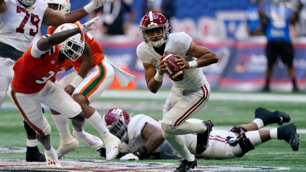 Young sets Alabama record in debut win vs. Miami