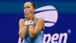 No. 1 Barty upset by Rogers at U.S. Open