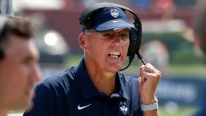 UConn coach Edsall announces retirement, effective at end of season
