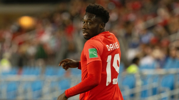 Davies returns to CanMNT squad for World Cup qualifers