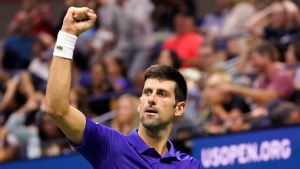 Djokovic downs American Brooksby to move on at US Open