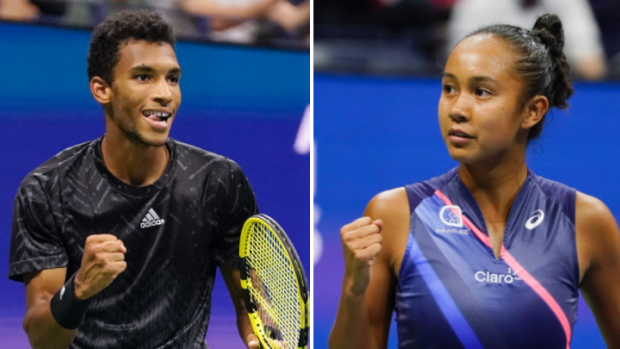Canadian history on the line at the US Open