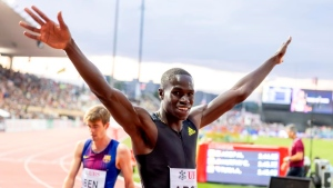 Canadian Arop has become one of most consistent 800m runners in the world