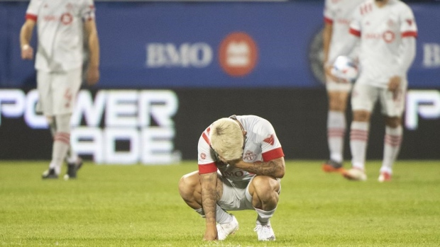 TFC president says club is struggling through season in 'quicksand'