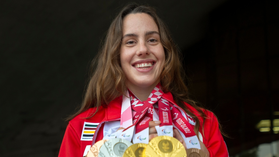 Rivard still floating on a cloud after record medal haul in Tokyo