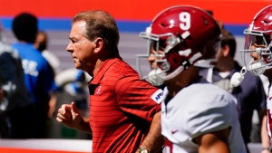 Saban questions Alabama's intensity after 31-point win