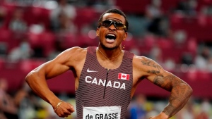 Canada's De Grasse ties best time, finishes second in 100m at Diamond League Final