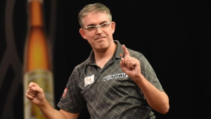 Canadians beaten by host Germany in first round of World Cup of Darts