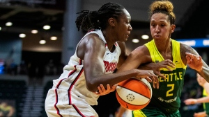 Charles moves into second on WNBA rebounding list in Mystics' victory