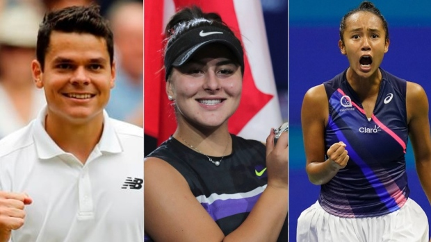 A look back at Canadians in Grand Slam singles finals