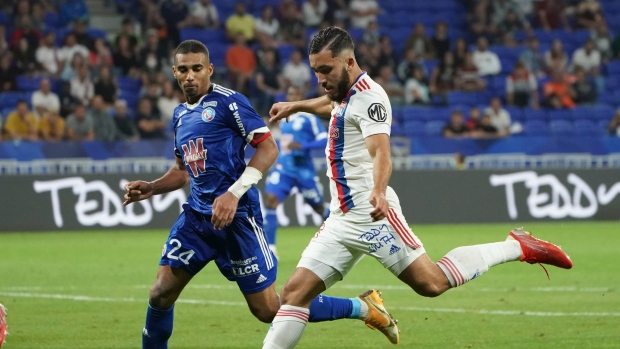 Shaqiri sets up Lyon goal in win, Angers draws at Brest