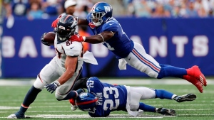 Giants place Peppers on IR with ACL injury