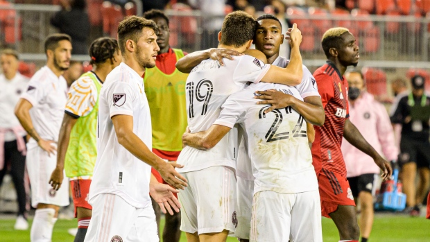 Late Inter Miami penalty sinks 10-man TFC, losing streak grows