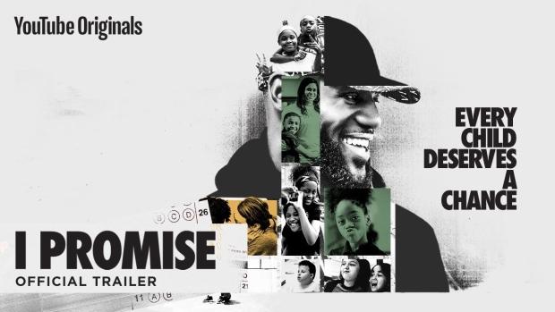 YouTube shares trailer for LeBron James' 'I Promise' elementary school documentary