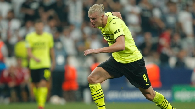 Haaland scores as Dortmund beats Besiktas away