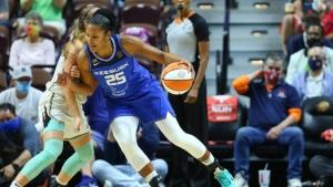 WNBA-leading Sun rout Liberty for 13th straight win