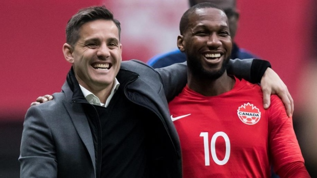 Canadian men rise to No. 51 in FIFA rankings