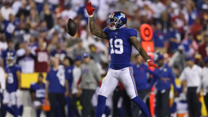 Giants' Jones: Golladay frustrated, but 'everything's good'